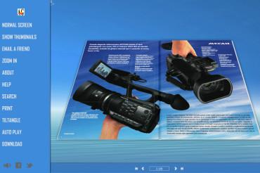 FlipBook 3D – Style-Flexible