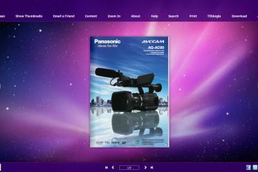 Videocamera HD Panasonic AG-AC 90