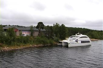 Navigando il Lago Sacro dei Saami