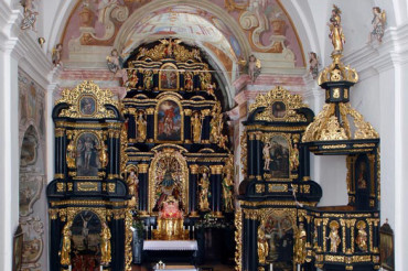 The Baroque Church of Olimje Monastery