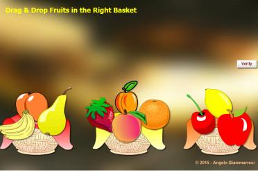 Drang-n-drop Fruits