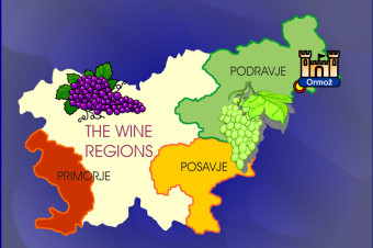 Ormož and the Wineroutes - Slovenia