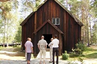 L'antica chiesa in legno di Sodankylä