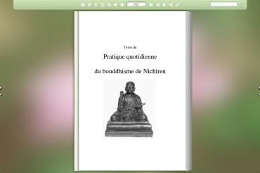 Pratica Quotidiana del Buddismo di Nichiren