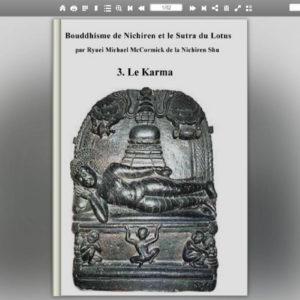 Buddhisme de Nichiren et le Sutra du Lotus  - Le Karma