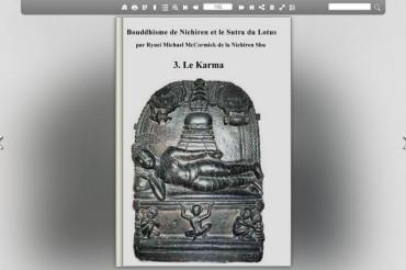 Buddhisme de Nichiren et le Sutra du Lotus  – Le Karma