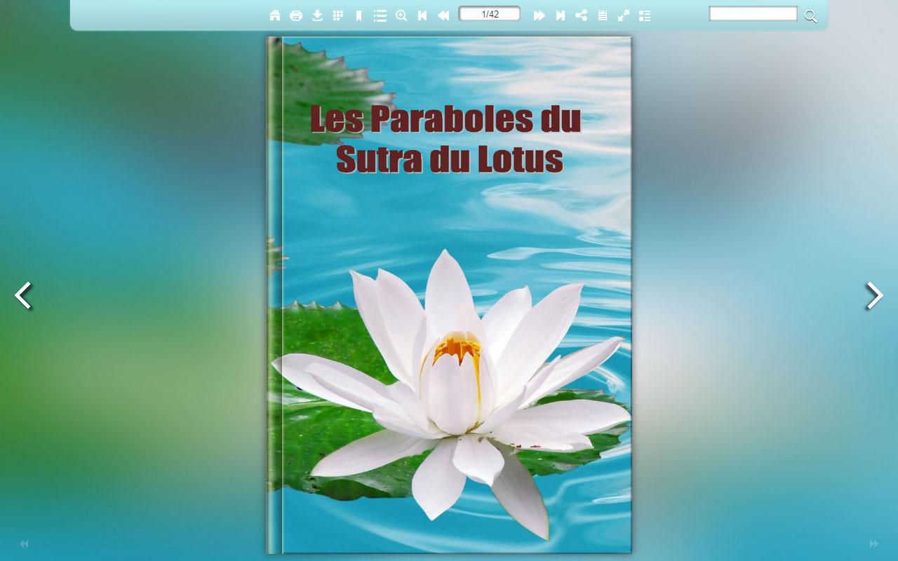 Les Paraboles Du Sutra Du Lotus Le Parabole Del Sutra