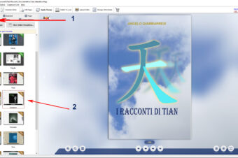 THE MAKING OF FLIP BOOK «THE TALES OF TIAN»
