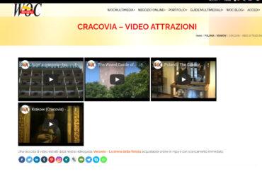 CRACOVIA – VIDEO ATTRAZIONI