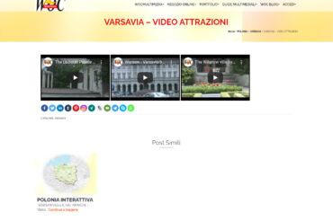 VARSAVIA – VIDEO ATTRAZIONI
